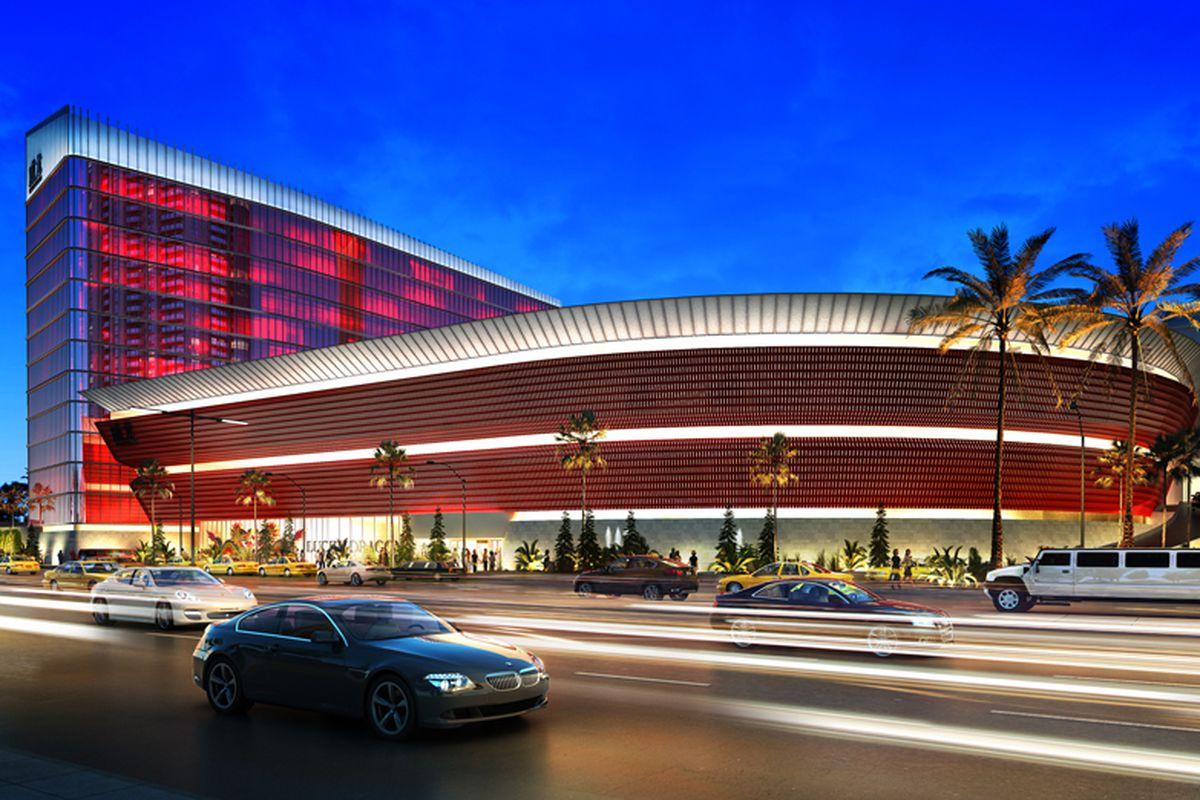 Lucky Dragon Hotel & Casino rendering