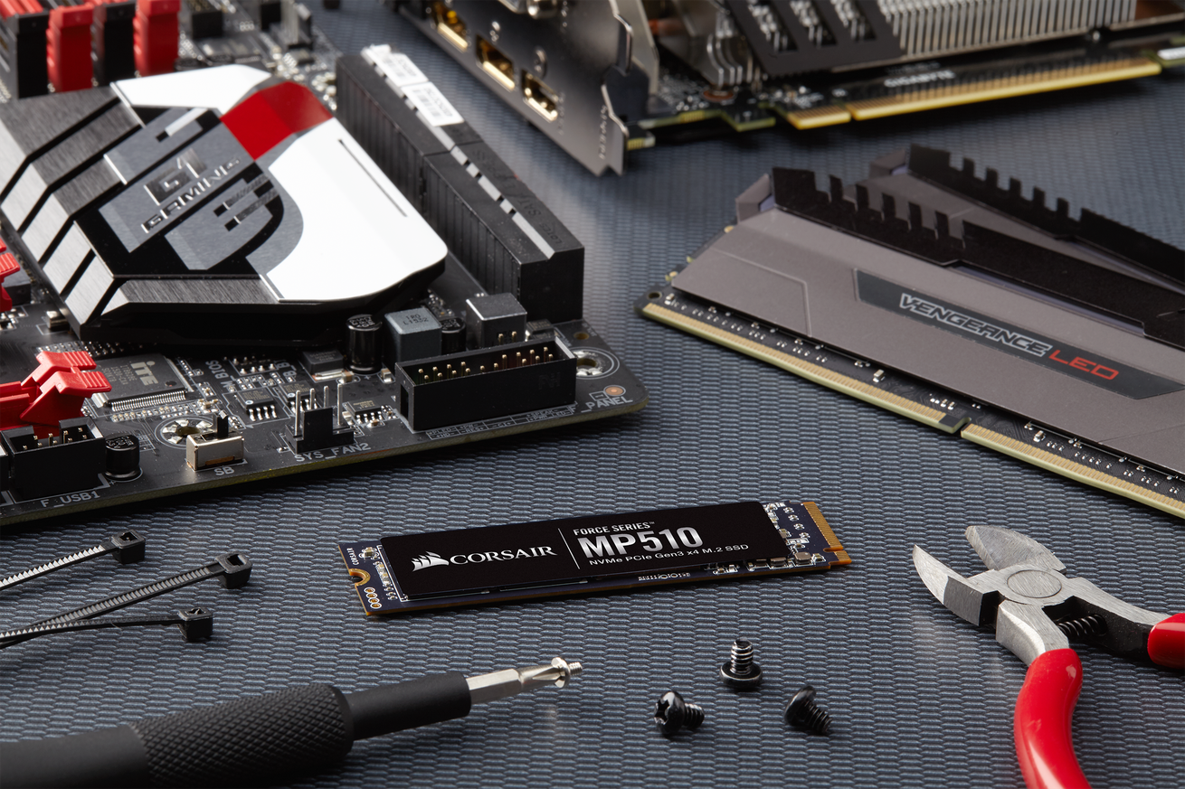 corsair lowers the cost of super speedy nvme storage with new mp510