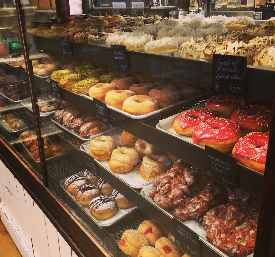 Revolution Offers A Wide Range Of Doughnuts Including Around 15 Vegan OptionsRevolution Also Carries Gluten Free