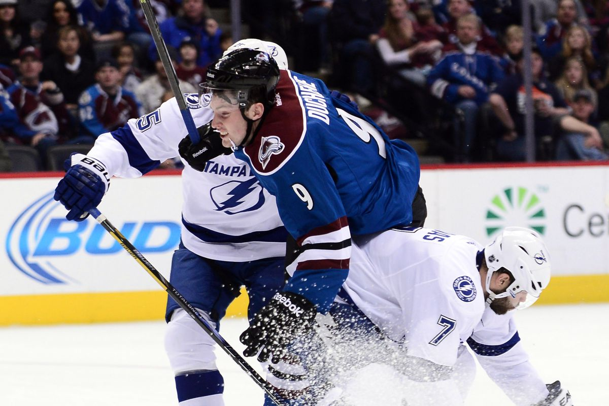game 60 preview lightning visit the avalanche mile high hockey