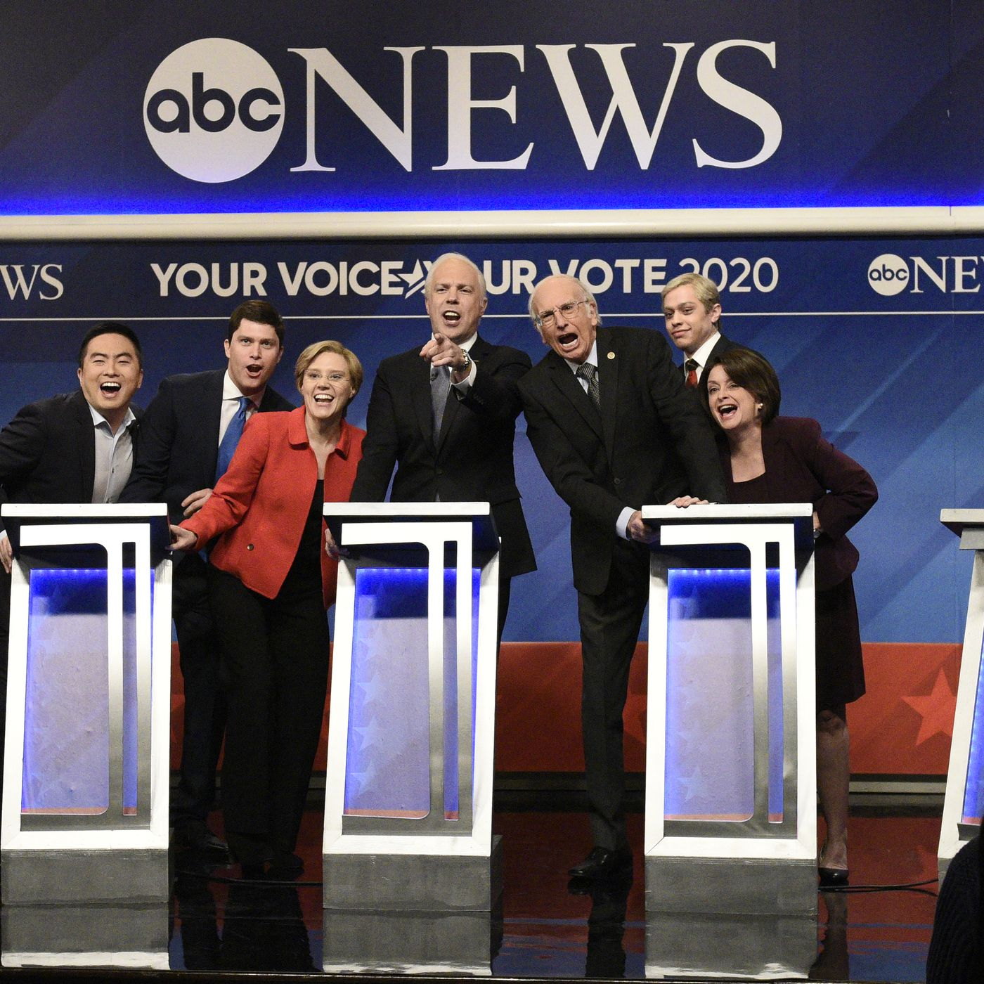 Snl Cold Open 2020 Candidates Make Desperate Pitches At The