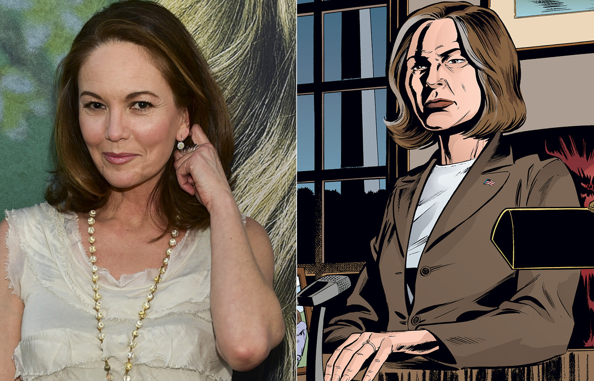 diane lane as senator brown on y the last man series