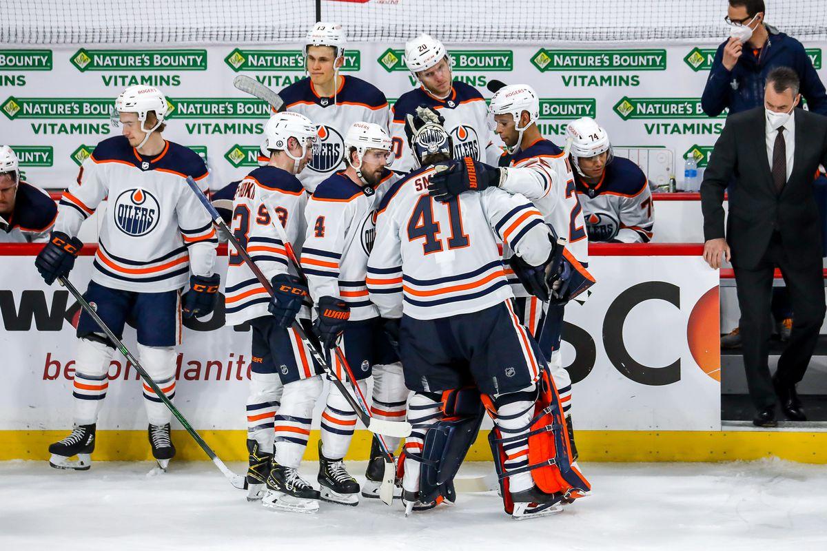 Edmonton Oilers v Winnipeg Jets - Game Four