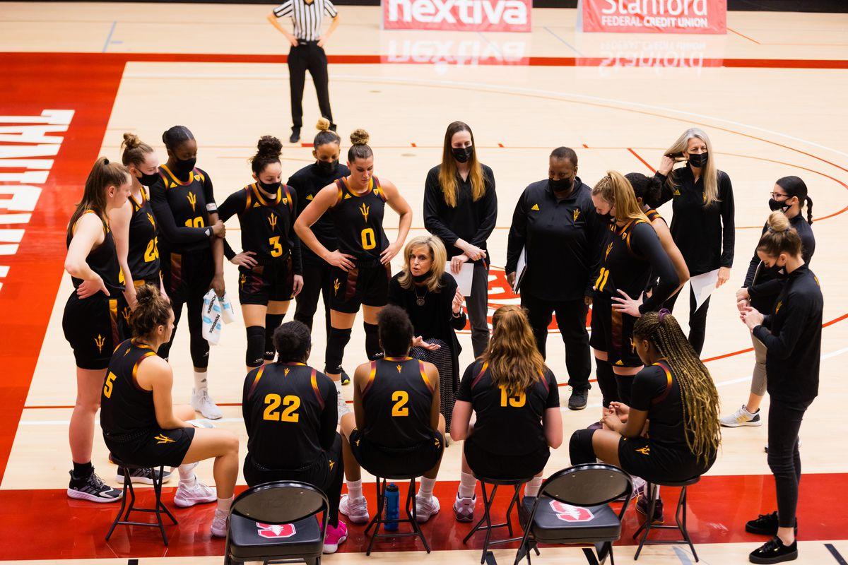 COLLEGE BASKETBALL: FEB 19 Women's Arizona State at Stanford