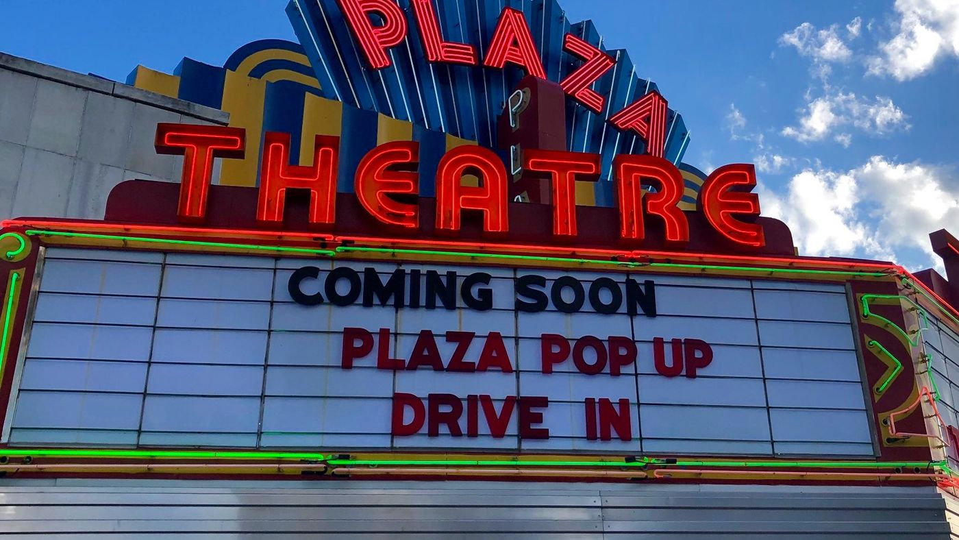 The Plaza Theatre S New Pop Up Drive In Includes Concessions From Local Restaurants Like Southern Belle And The Righteous Room In Atlanta Eater Atlanta
