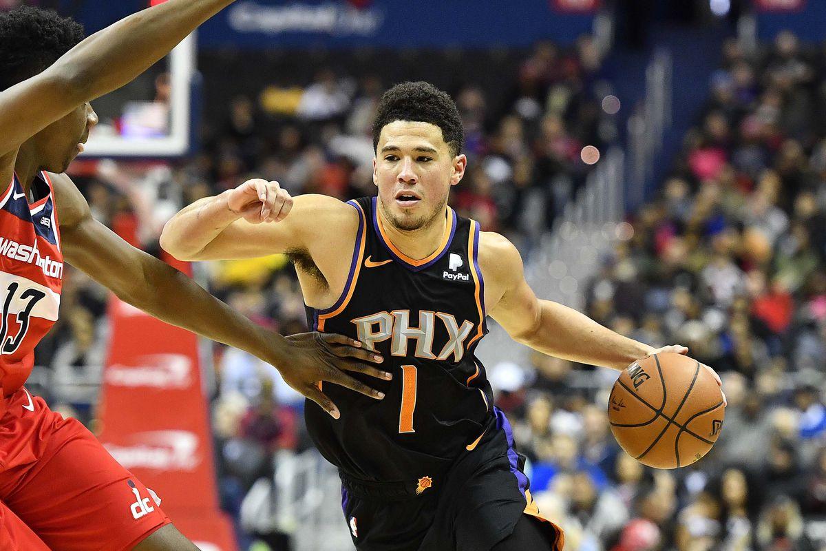 NBA: Phoenix Suns at Washington Wizards