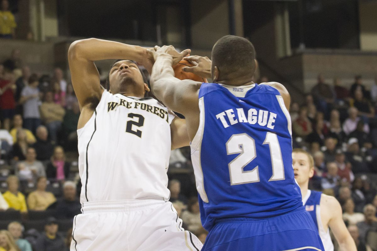 Feed the beast! Gene Teague's presence kept Seton Hall hanging around long enough to pull off the W.