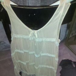 Silk babydoll, normally $325, sale $100