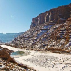 Colorado River Ice