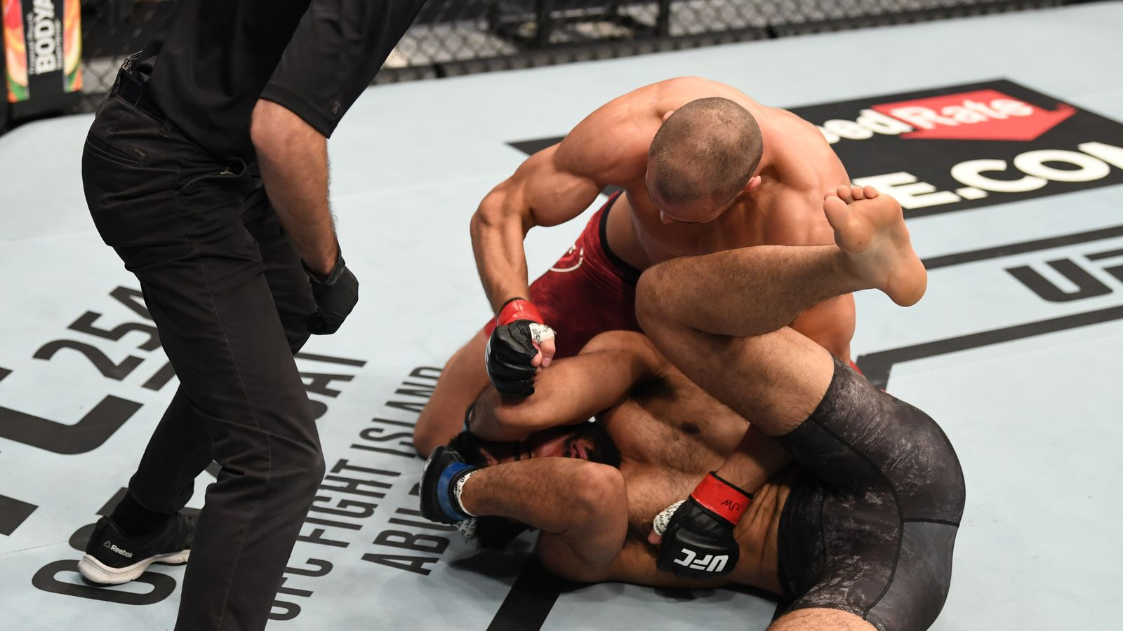 Knockout! Watch Tom Breese crumble KB Bhullar early at UFC Fight Island 5 - MMAmania.com