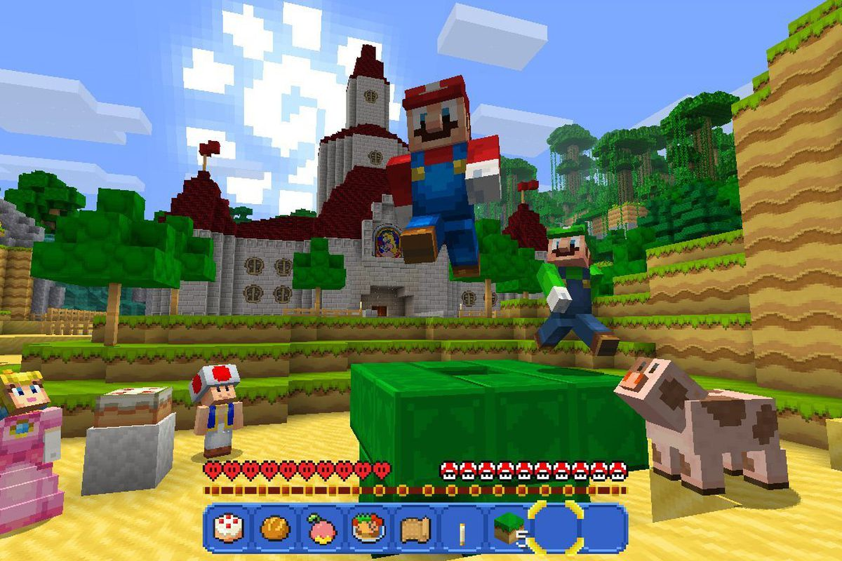 Minecraft Games And Gamers : Minecraft for nintendo switch getting xbox achievements