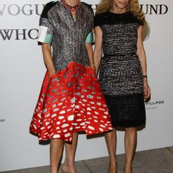 Anna Wintour attends The Vogue Fashion Fund Who Is On Next? party dring Milan Fashion Week Womenswear Spring/Summer 2012 at Palazzo Morando on September 22, 2011 in Milan, Italy.