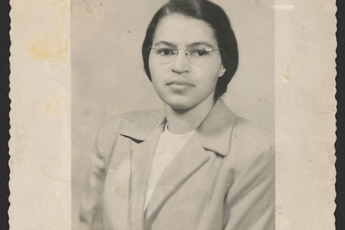 Rosa Parks, circa 1950.