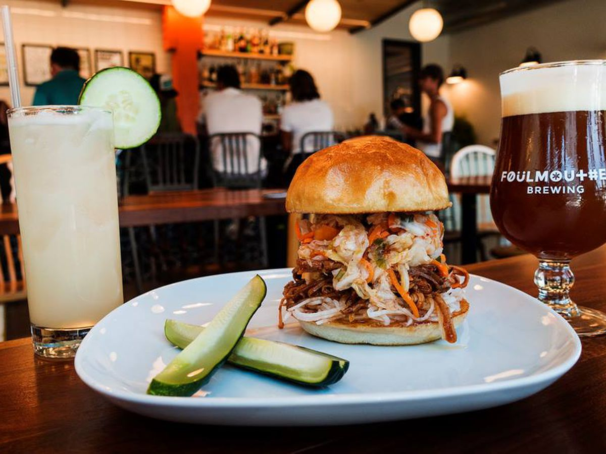 Foulmouthed Brewing in South Portland serves rare beer styles and hearty pub fare