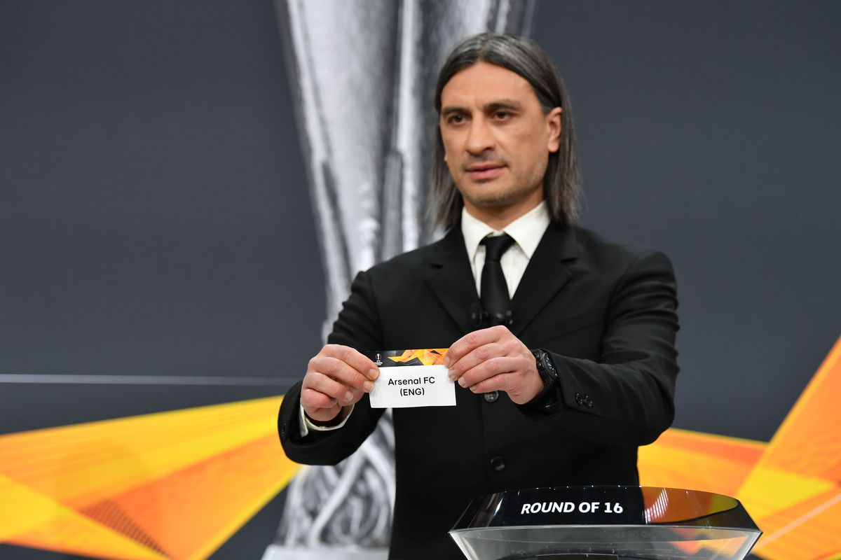 UEFA Europa League 2020/21 Round of 16 Draw