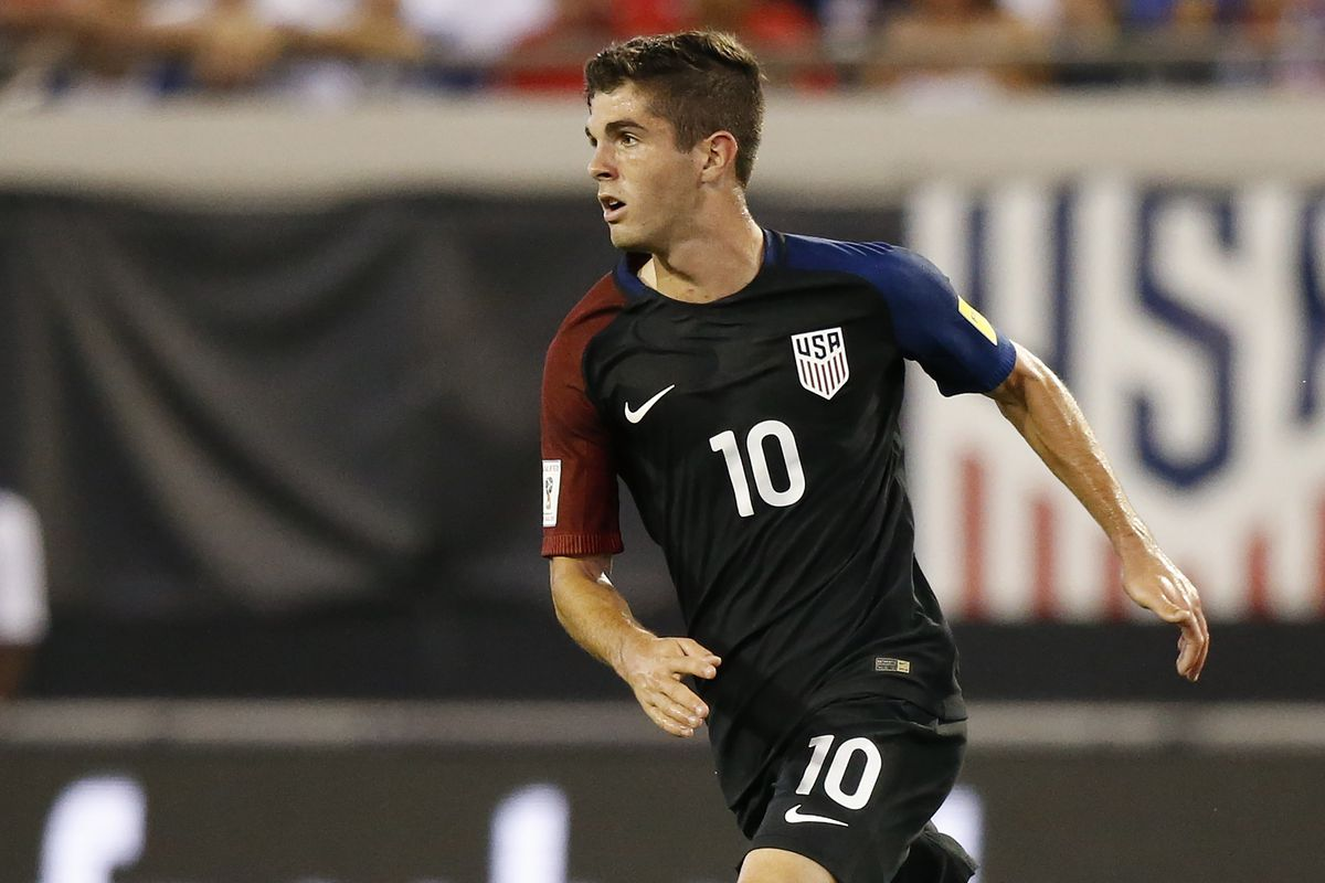 best wholesaler c73c9 391db The spotlight is all on Christian Pulisic as the USMNT takes ...