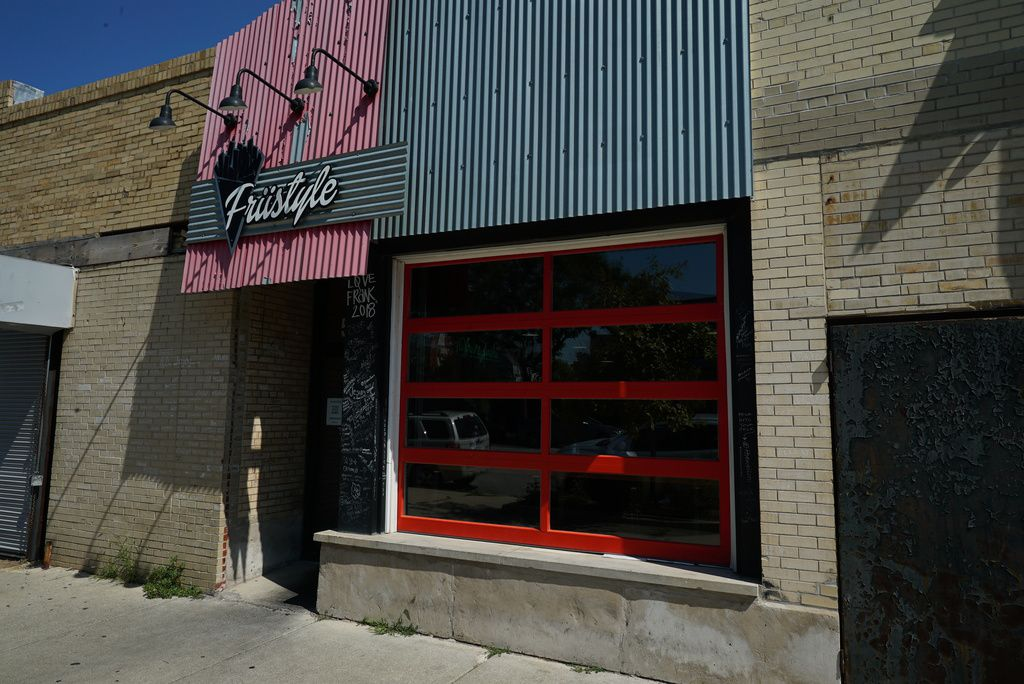 Friistyle is located at 5059 S. Prairie Ave. in Bronzeville.