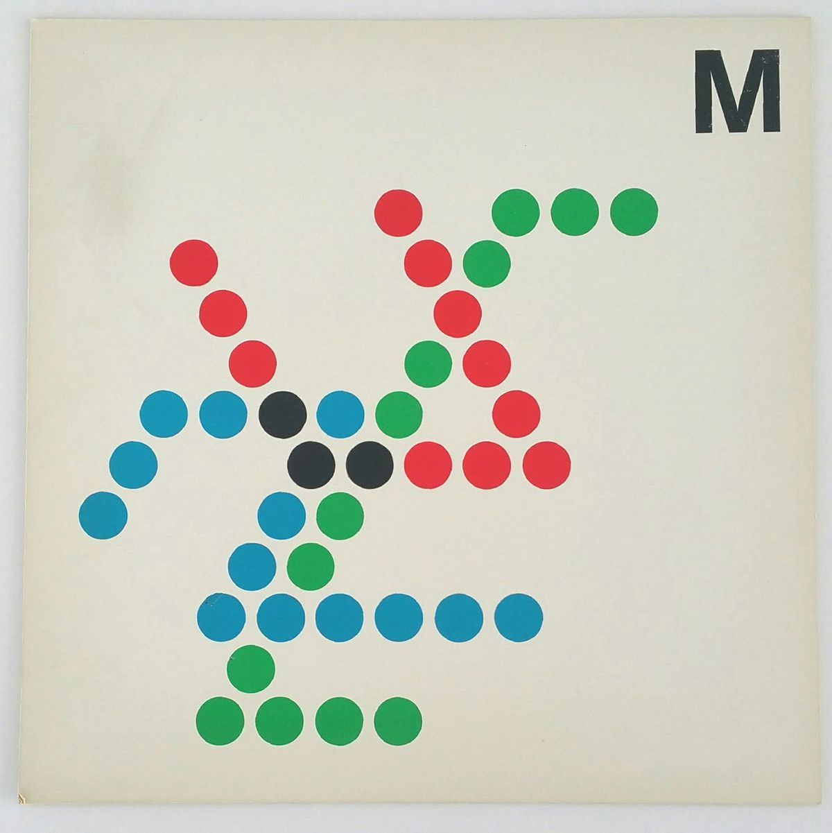 D.C. Metro map with dots