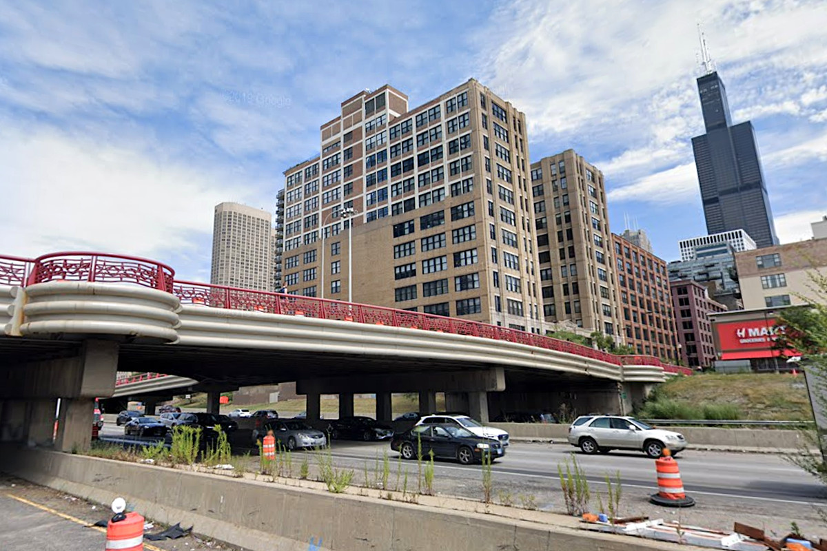 The Jackson Boulevard Bridge over I-90/94 will be closed for two years of construction starting March 27, 2020.