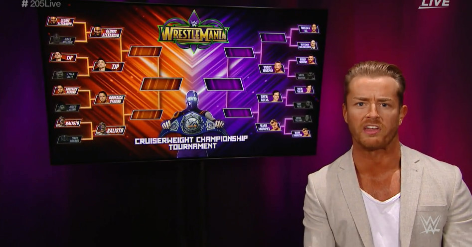 drake maverick presents  the cruiserweight title