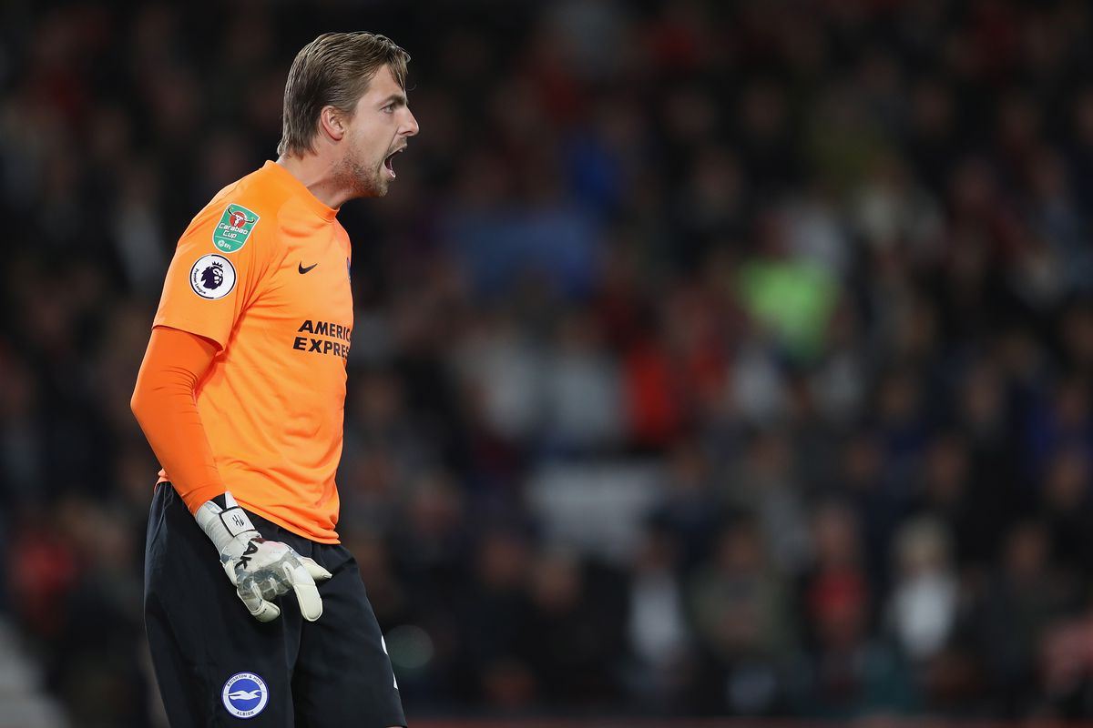 Rafa Benitez reacts to Tim Krul's permanent move to Brighton