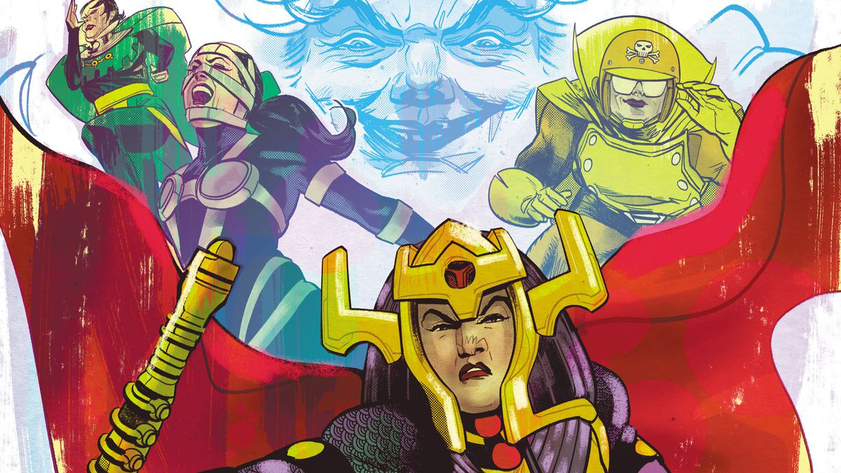 Even The Female Furies Of Darkseids Apokolips Face Sexual