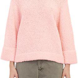 """Lauren Manoogian alpaca-blend bouclé pullover sweater, <a href=""""http://www.barneys.com/lauren-manoogian-boucl%C3%A9-pullover-sweater-503616694.html#prefn1=onSale&sz=48&start=387&prefv1=Sale"""">$89</a> (from $370)"""