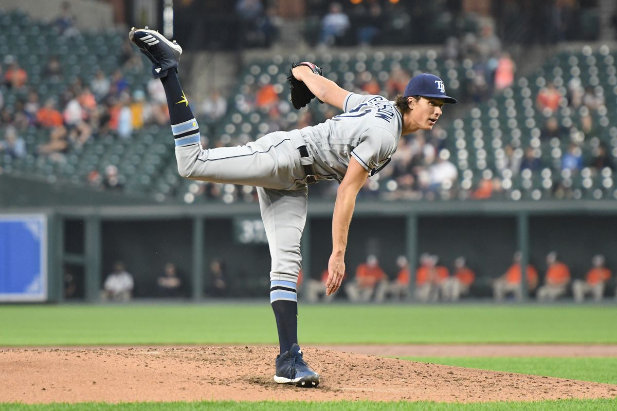 Tyler Glasnow has been vital to the Rays' success