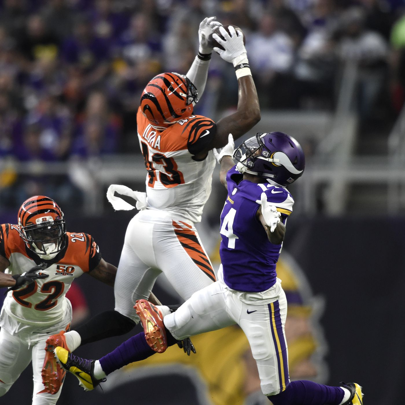 Free agent S George Iloka signing with Vikings - Daily Norseman