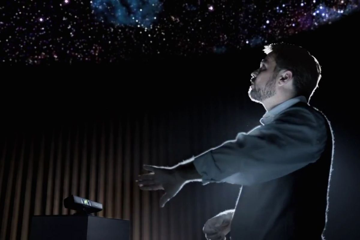 Kinect effect ad
