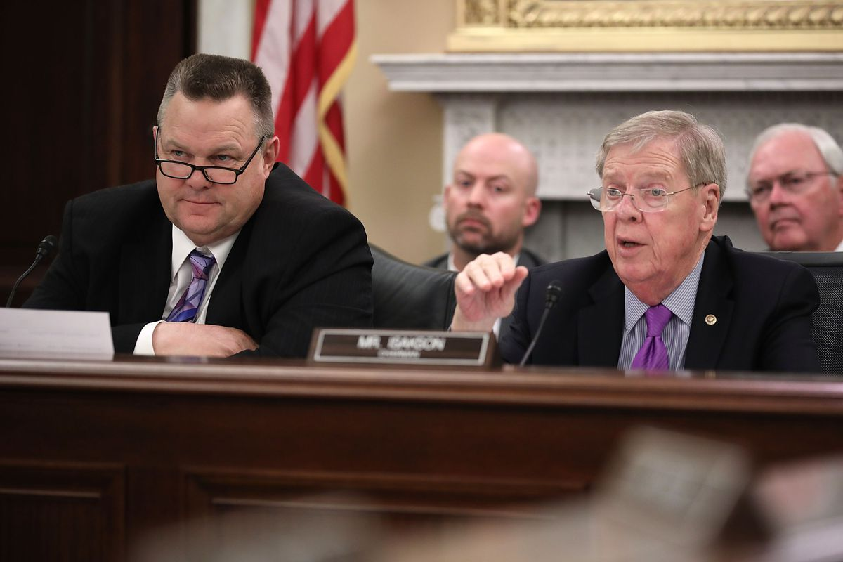 Veterans Affairs Secretary David Shulkin Testifies To Senate Committee
