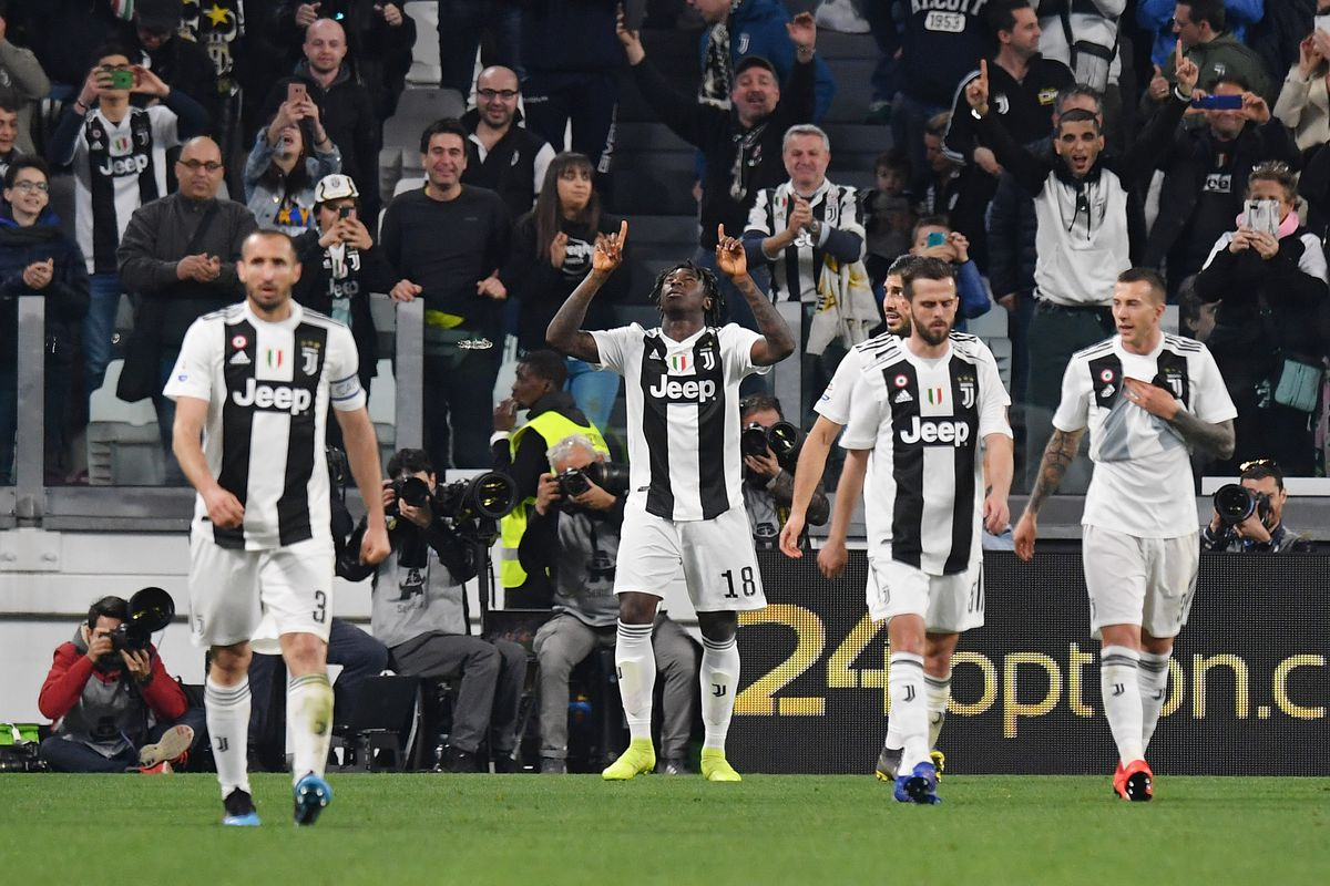 Kean Comes Off The Bench To Lift Flagging Juve Over Empoli Black White Read All Over