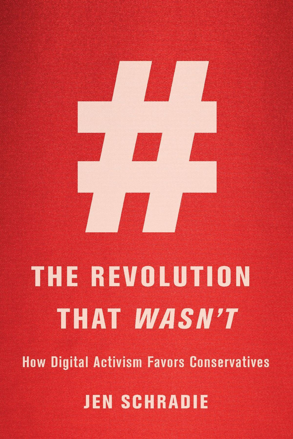 The cover of The Revolution That Wasn't.