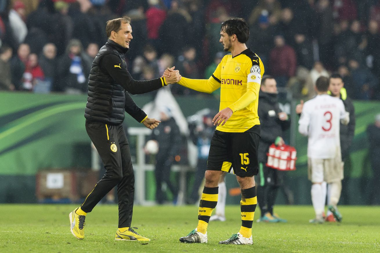 If Thomas Tuchel comes, would Mats Hummels go""