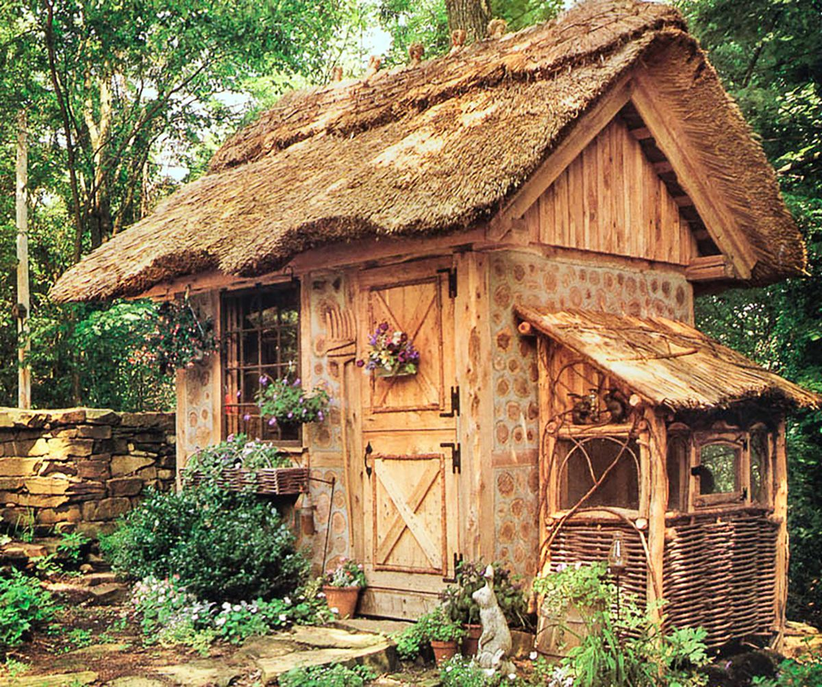 Potting Shed With Dutch Door