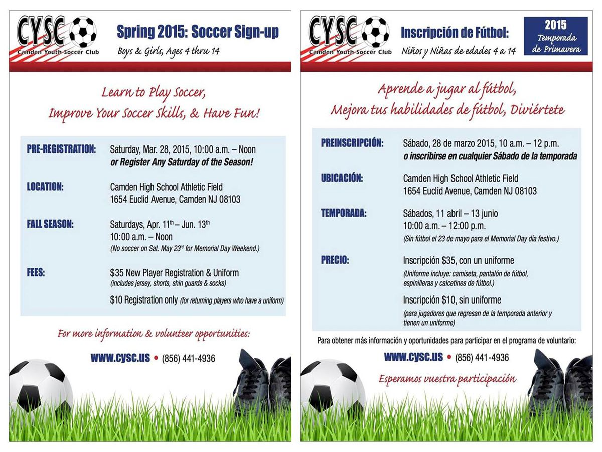 CYSC spring 2015 flyer