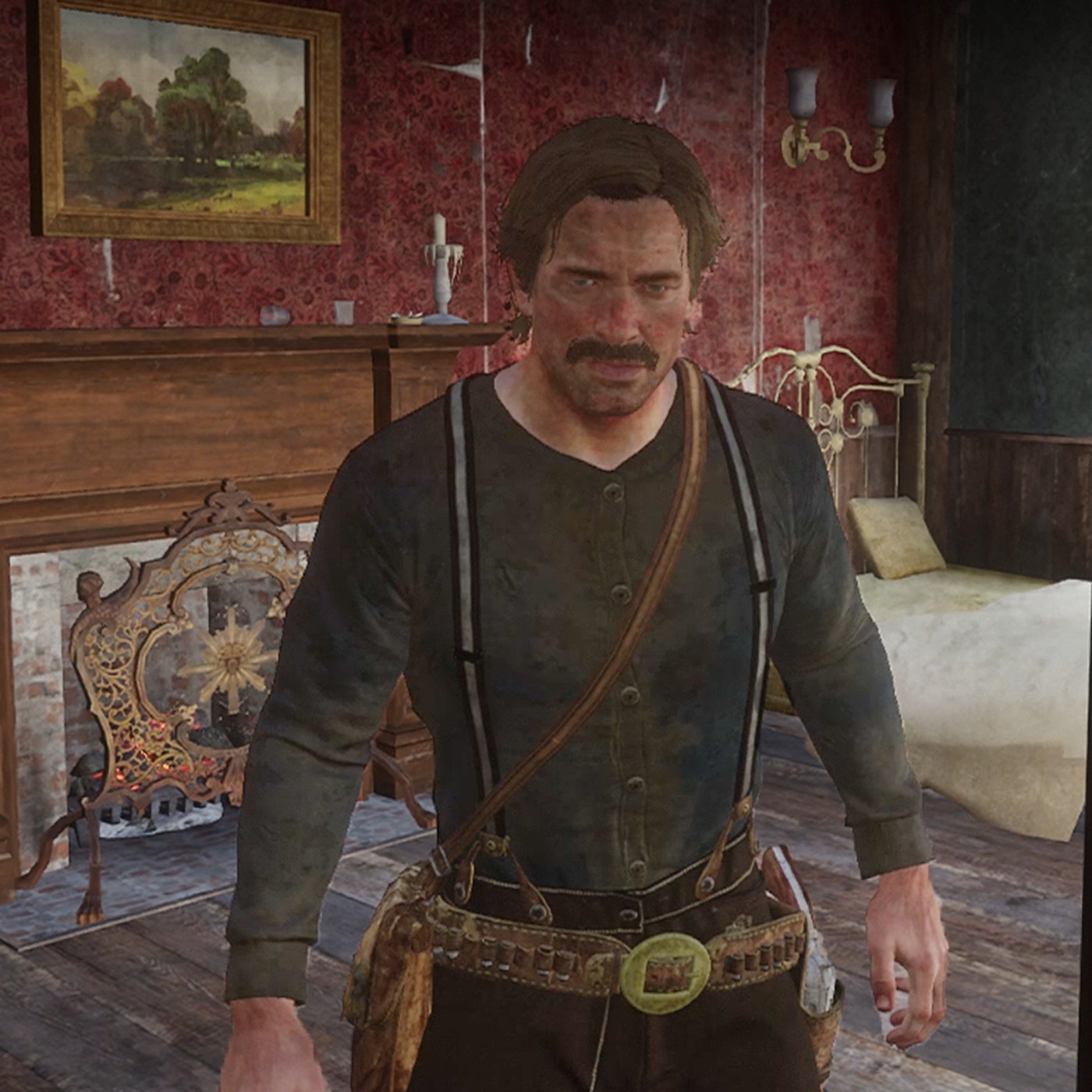Red Dead Redemption 2 S Arthur Morgan Does Not Like The Man In The