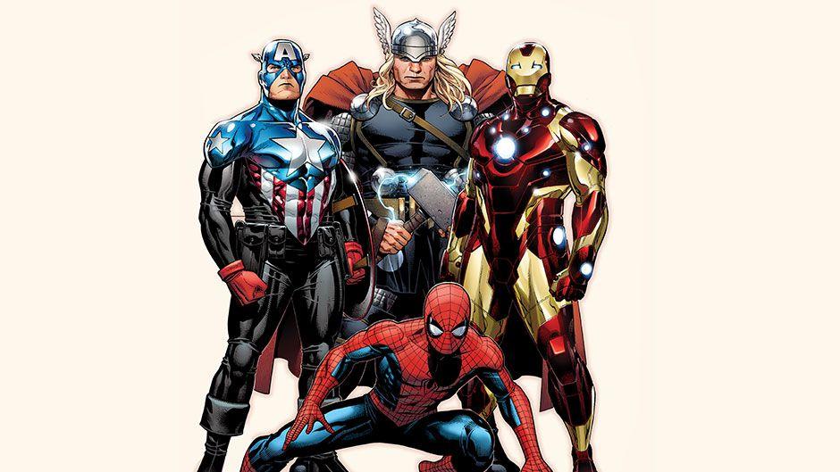 Marvel Spider-Man Avengers comic promo
