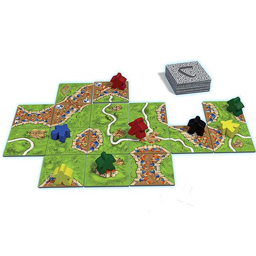 Components of Carcassonne gameplay
