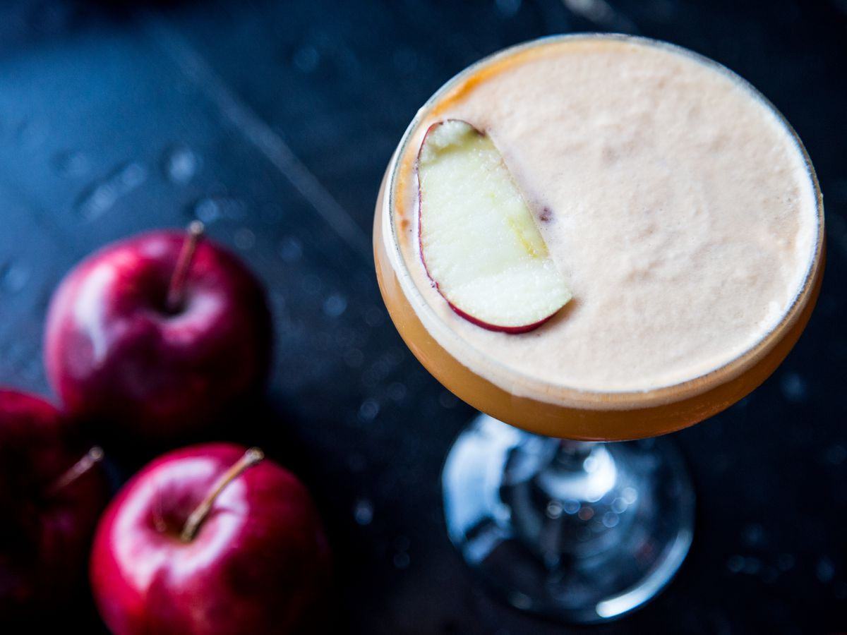 Stone's Throw is serving up an apple drink that no grown-up will be able to resist.
