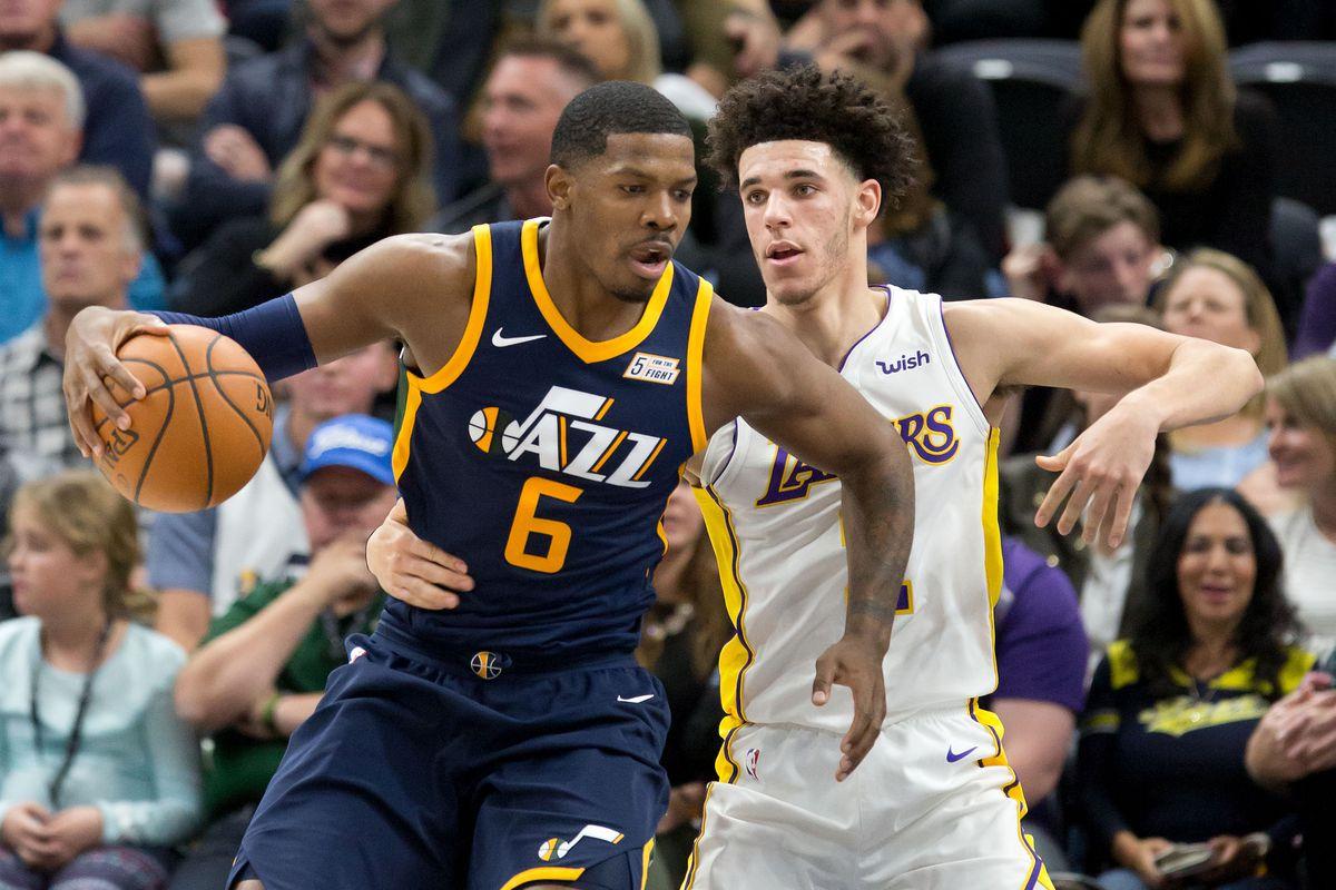 NBA: Los Angeles Lakers at Utah Jazz