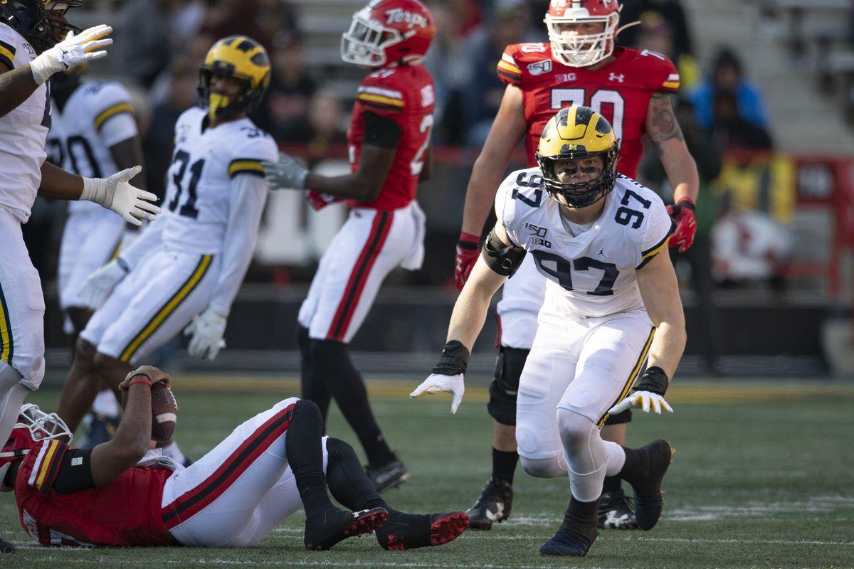NCAA Football: Michigan at Maryland