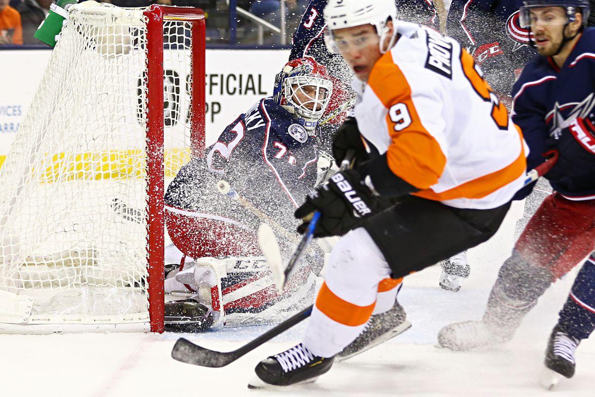 NHL: Philadelphia Flyers at Columbus Blue Jackets