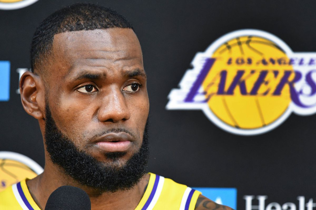 c04f64ec73e LeBron James says Lakers have 'a long way to go' to catch Warriors, and  that a championship isn't the only measure of success