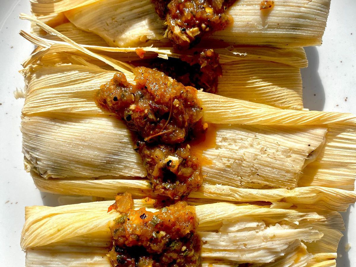 Tamales from Son's Addition