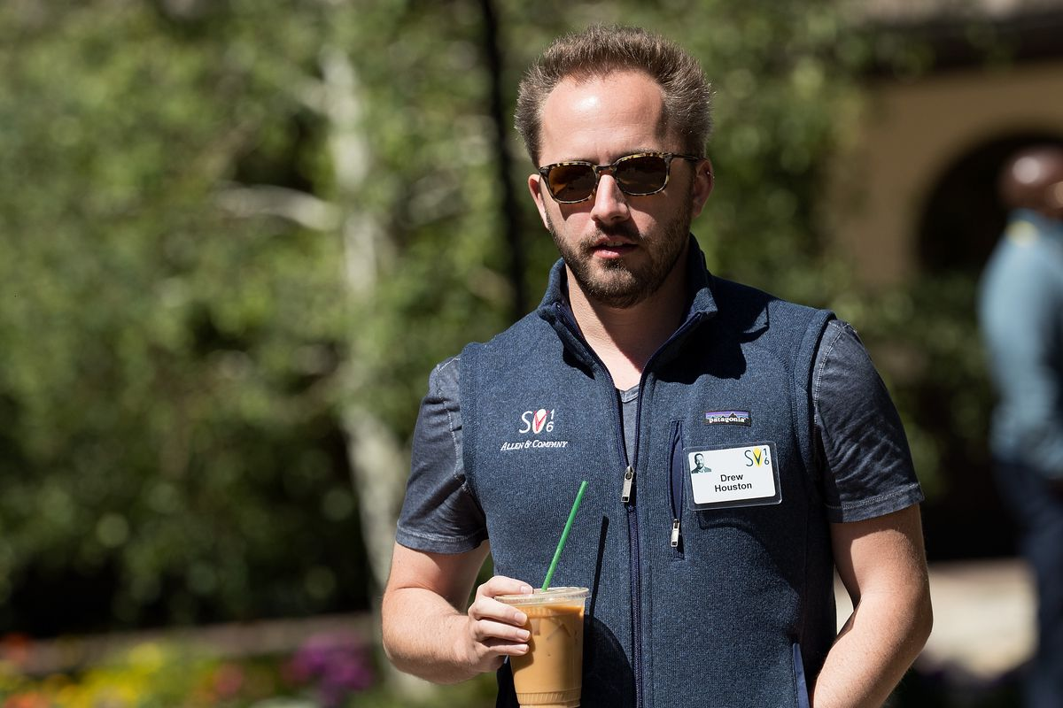 Dropbox CEO Drew Houston        Drew Angerer  Getty