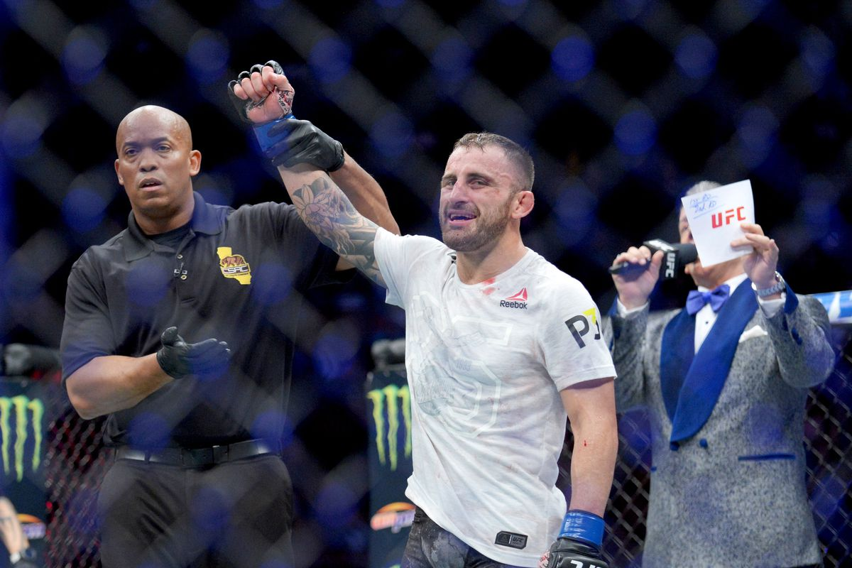 UFC 237's Alex Volkanovski released from hospital after recovering from leg infection