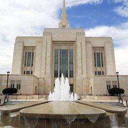 Ogden Utah Temple in Ogden, Tuesday, July 29, 2014.