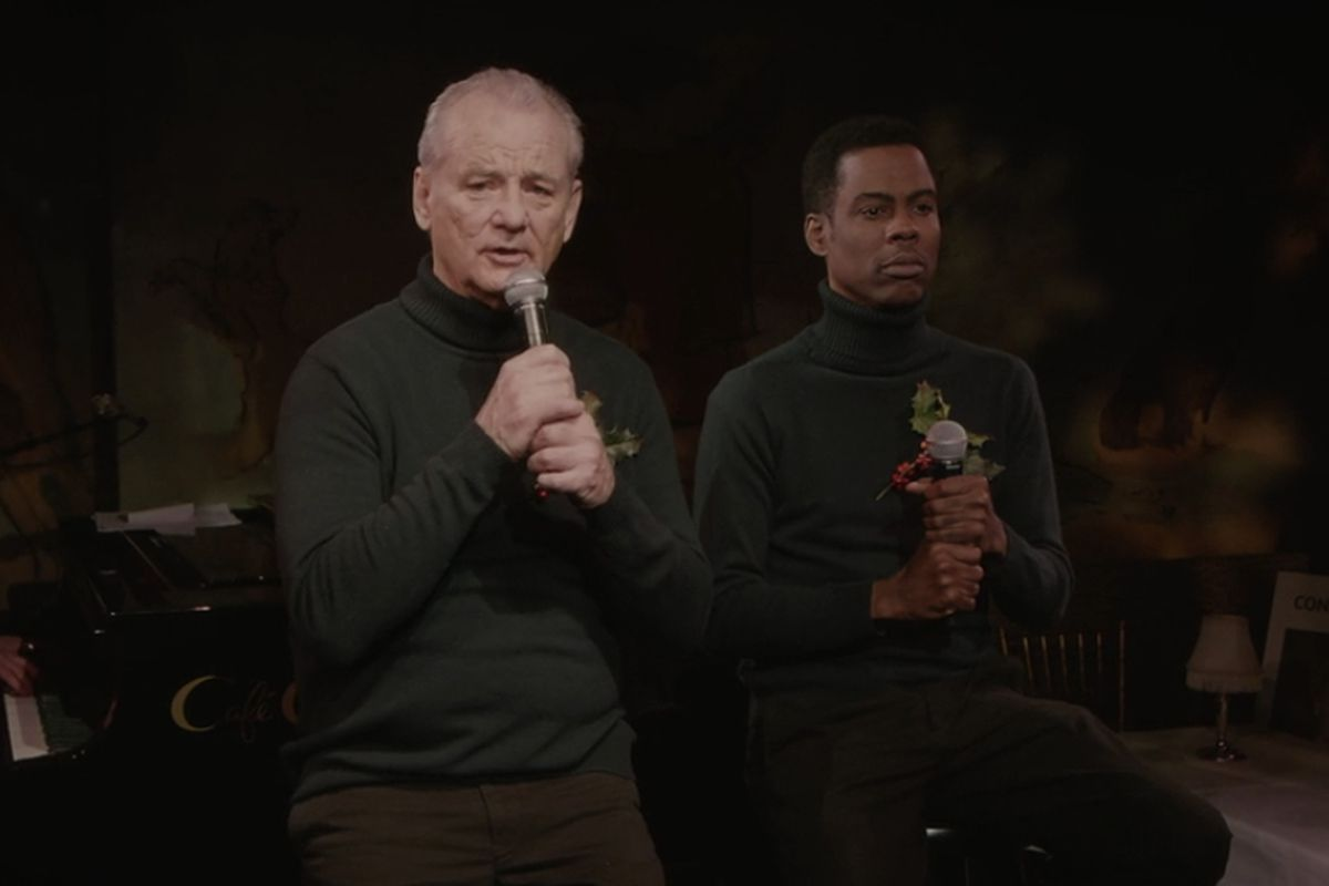 Murray Christmas.The Ten Most Gif Able Moments Of Netflix S A Very Murray