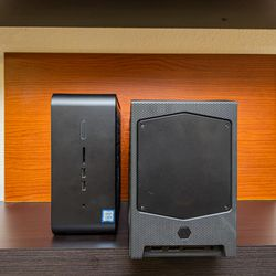 <em>The new 8-liter NUC may be small, but it's a lot larger than last year's 5-liter model.</em>